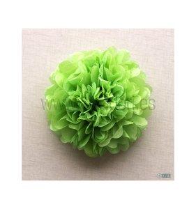Pompón 50 cm Verde