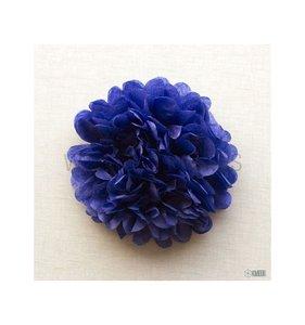 Pompón 50 cm Azul Marino