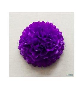 Pompón 50 cm Púrpura
