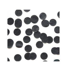 Confetti papel de seda 5 cms. Negro