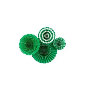 Abanicos de papel Green