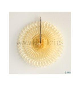Abanico Decorado Ivory 30 cm