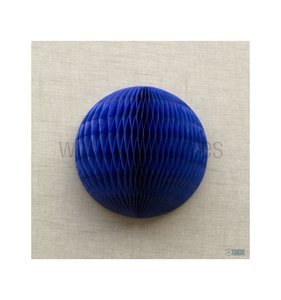 Bola de nido de abeja Azul oscuro 10 cm