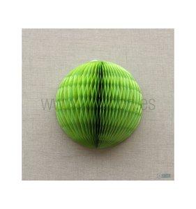 Bola de nido de abeja Verde Lima 25 cm