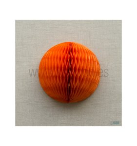Bola de nido de abeja Naranja 40 cm