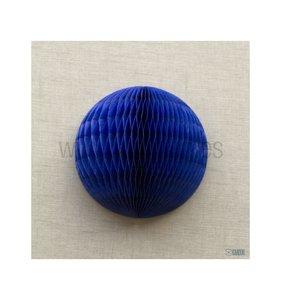 Bola de nido de abeja Azul oscuro 40 cm