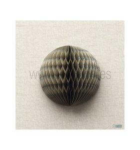 Bola de nido de abeja Gris 40 cm