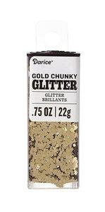 Purpurina Chunky Glitter Gold