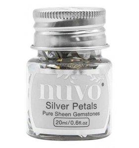 Nuvo Pure Sheen Gemstones Silver Petals