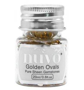Nuvo Pure Sheen Gemstones Golden Ovals