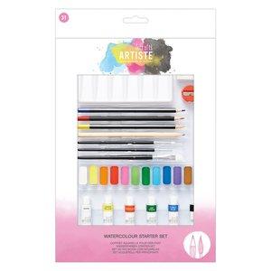 Artiste Watercolor Starter Set