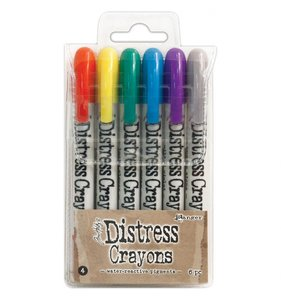 Crayons Distress Set 4