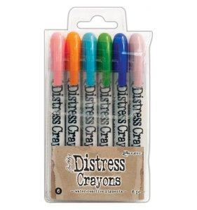 Crayons Distress Set 6