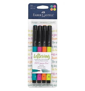 Set rotuladores Lettering Bright Faber Castell