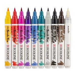 Set Ecoline Brush Pen 10 pk Handlettering