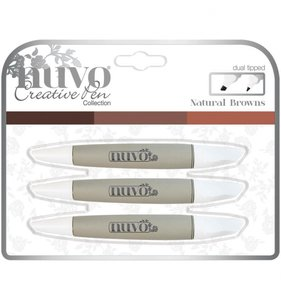 Rotuladores NUVO Set Natural Browns