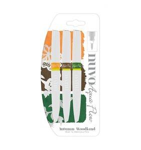 Pinceles con acuarela NUVO Autunm Woodland