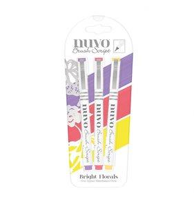Rotuladores punta pincel NUVO Bright Florals