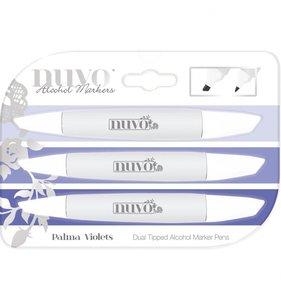 Rotuladores NUVO Set Palma Violets