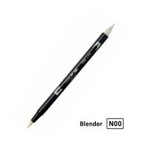 Rotulador acuarelable Tombow Dual Brush N00 Blender mezclador