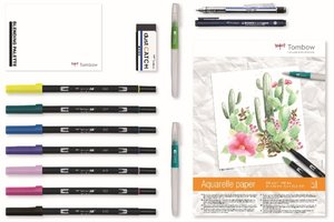 Tombow Edición Especial Home Set Watercoloring