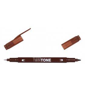 Rotulador Tombow Twintone 41 Chocolate