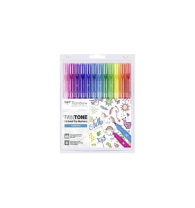 Tombow Twintone Rainbow 12 pk