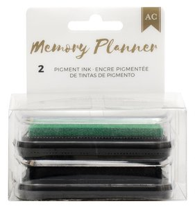Set tintas Green & Black  Memory Planner 2.0