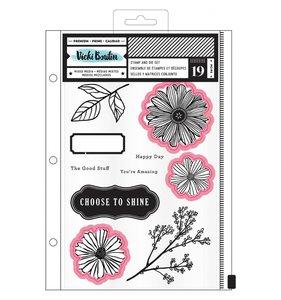 Troqueles y sellos Shine by Vicki Boutin