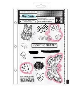 Troqueles y sellos Escape by Vicki Boutin