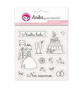 Sellos Nos Casamos de Anita y su Mundo