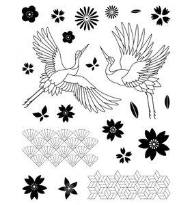 Set grande de sellos Japan