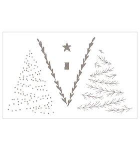 Set de sellos acrílicos Isatis Trees