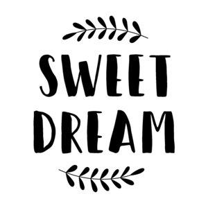 Sello y bloque de metacrilato Sweet Dream