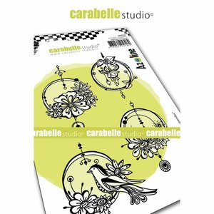 Sello Carabelle tipo Cling A6 Cercles Suspendus