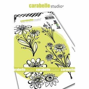 Sello Carabelle tipo Cling A6 Bouquet du Matin