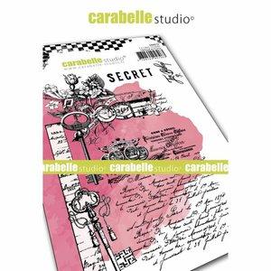 Sello Carabelle tipo Cling A6 Secret