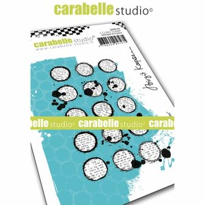 Sello Carabelle tipo Cling A6 Inky Circles