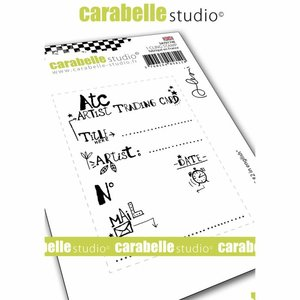 Sello Carabelle tipo Cling A7 ATC 2 in english