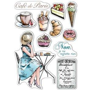 """Sellos Ciao Bella 6x8"""" La Boulangerie"""
