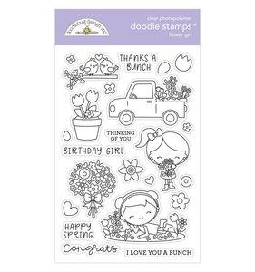 Sellos Doodlebug Flower Girl