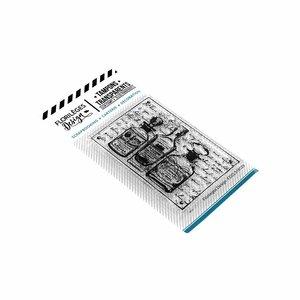 Set de sellos acrílicos Florilèges TRIO DE FLACONS