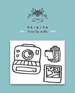 Mini Sellos Fridita Polaroid 80,s