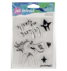 Jane Davenport Artomology Sellos Unicorn Sparkle
