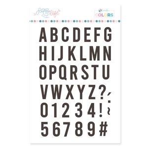 Sello Scrap Your Life Alfabeto Bold