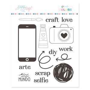 Sello Scrap Your Life Craft Love