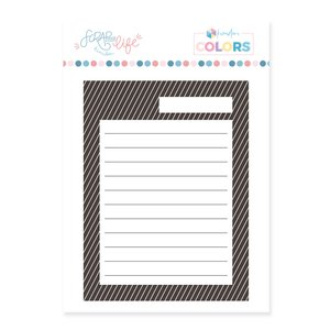 Sello Scrap Your Life Tarjeta para Journaling