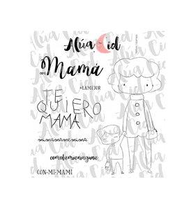 Sello Alua Cid Con Mamá