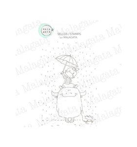 Sello Malagata Lluvia