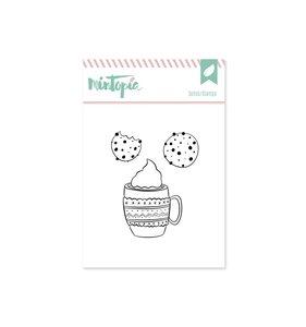 Sello Mintopía Café con galletas